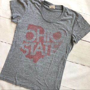 Homage Ohio state fitted t shirt